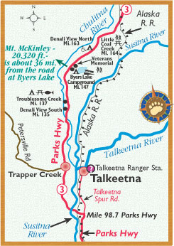 Travel To Talkeetna Alaska With Bearfoot Travel Guides